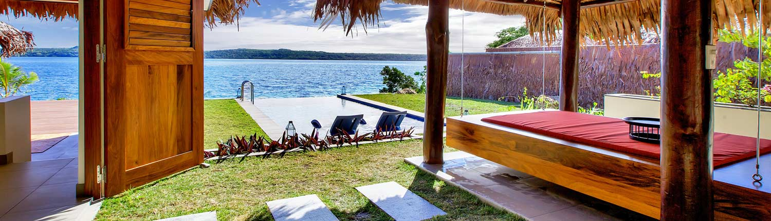 The Havannah, Vanuatu - Deluxe Waterfront Villa