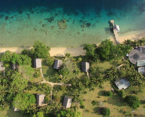 Aore Island Resort, Vanuatu - Aerial View