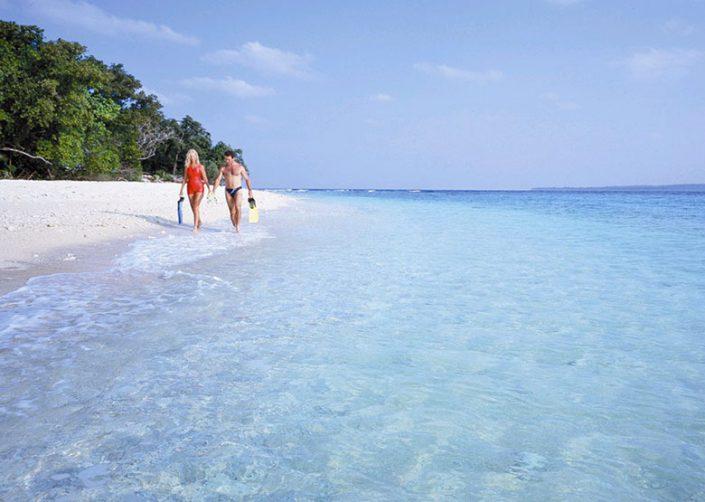 Bokissa Island Resort, Vanuatu - Couple on Beach