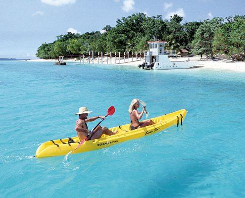 Bokissa Island Resort, Vanuatu - Kayaking