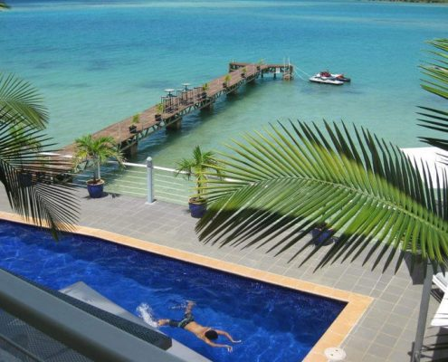 Chantilly's on the Bay, Vanuatu - Pool & Water Views