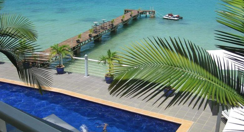 Chantilly's on the Bay, Vanuatu - Pool & Water Views