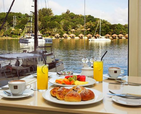 The Grand Hotel & Casino, Vanuatu - Breakfast Views