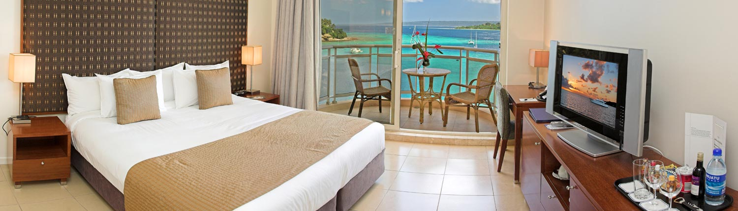 The Grand Hotel & Casino, Vanuatu - Harbour Views
