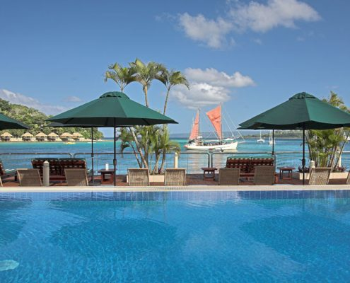 The Grand Hotel & Casino, Vanuatu - Pool Views
