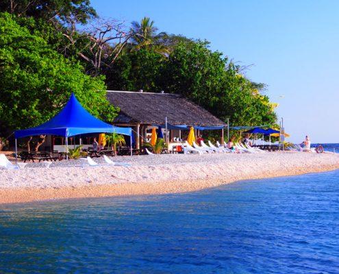 Hideaway Island Resort, Vanuatu - Beach Restaurant