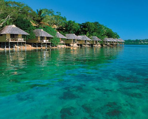 Iririki Island Resort, Vanuatu - Fares On The Beach