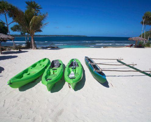Nasama Resort, Vanuatu - Kayaks