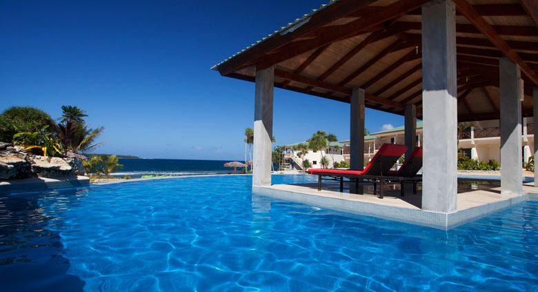 Nasama Resort, Vanuatu - Pool Views