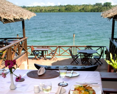 Sunset Bungalows Resort, Vanuatu - Restaurant