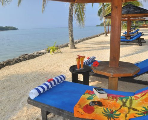 Warwick Le Lagon Resort & Spa, Vanuatu - Beach