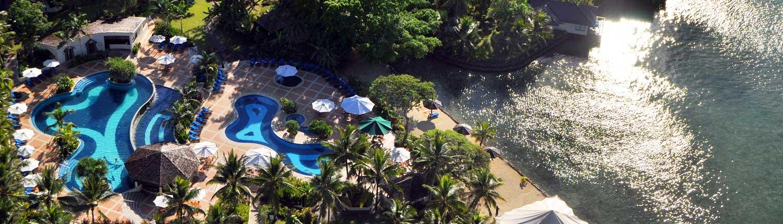 Warwick Le Lagon Resort & Spa, Vanuatu - Aerial