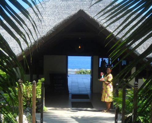 White Grass Ocean Resort, Vanuatu - Arrival
