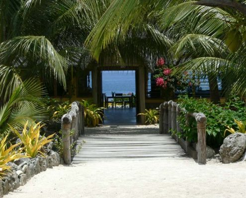 White Grass Ocean Resort, Vanuatu - Restaurant Exterior