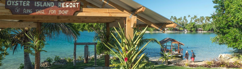 Oyster Island Resort, Vanuatu - Boat