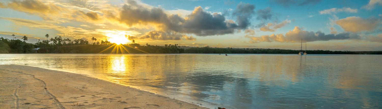 Oyster Island Resort, Vanuatu - Sunset
