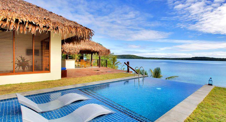 The Havannah, Vanuatu - Deluxe Waterfront Pool Villa