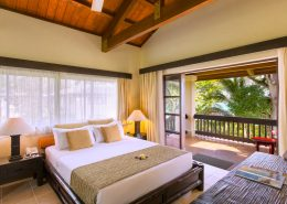 Warwick Le Lagon Resort, Vanuatu - Garden & Lagoon View Room Interior