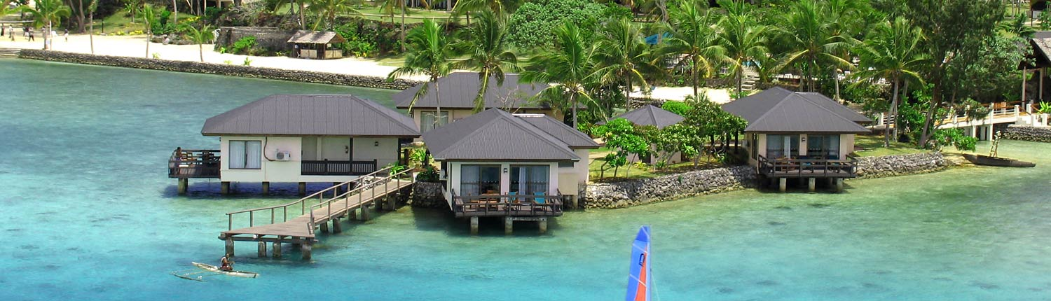 Warwick Le Lagon Resort & Spa, Vanuatu - Over Water Suites