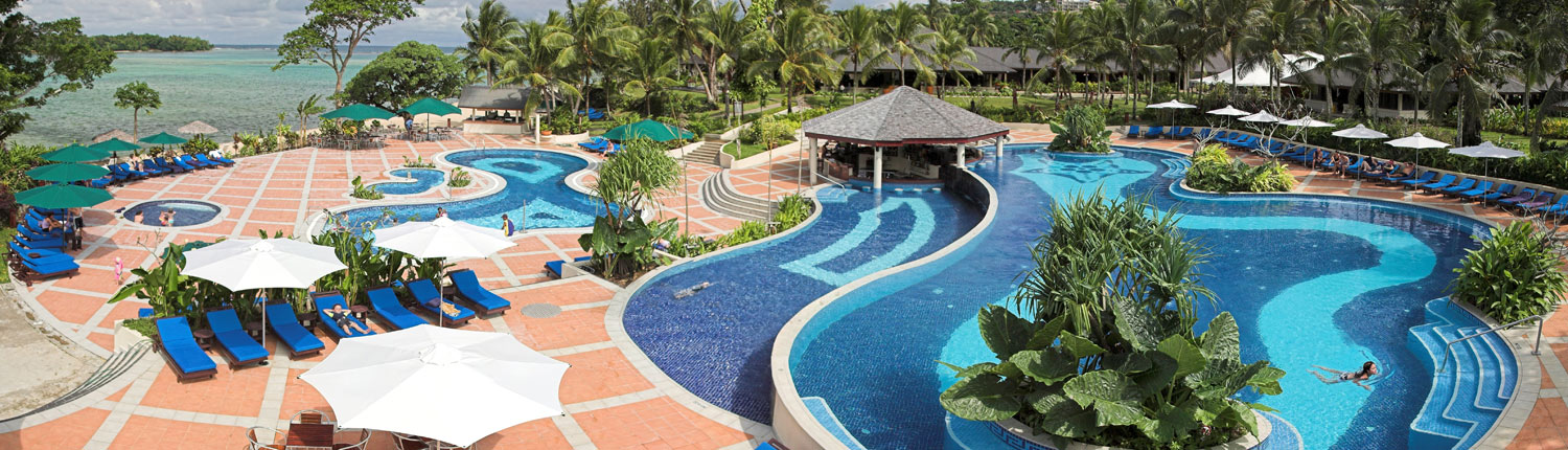 Warwick Le Lagon Resort & Spa Vanuatu - Resort Pool