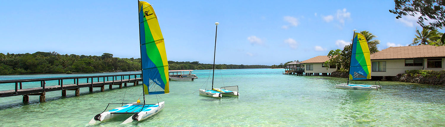 Warwick Le Lagon Resort & Spa Vanuatu - Water Sports