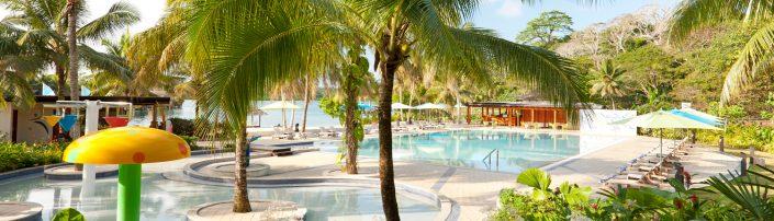 Holiday Inn Kids Pool - Vanuatu Resorts - Vanuatu Escapes