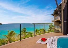 Iririki Island Resort, Vanuatu - Deluxe Ocean View Balcony
