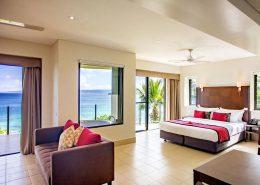 Iririki Island Resort, Vanuatu - Deluxe Ocean View Interior