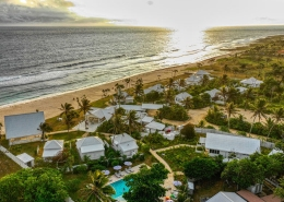 Tamanu on the Beach, Vanuatu - Aerial View