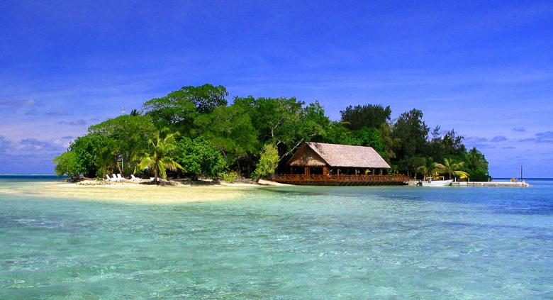 Erakor Island Resort, Vanuatu - Island View